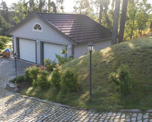 skandinavische garage und gartenhaus in malm ideen design bilder houzz. Black Bedroom Furniture Sets. Home Design Ideas