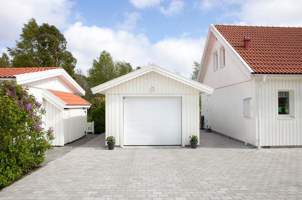 Skandinavisk Garage by Mellby Garage