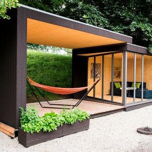 Idee per garage e rimesse minimalisti di medie dimensioni
