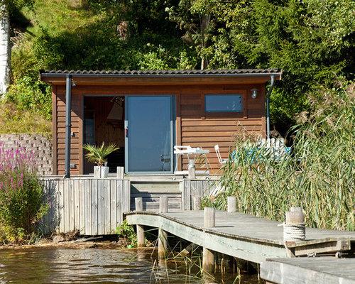 Skandinavische garage und gartenhaus ideen design bilder houzz - Gartenhaus stockholm ...
