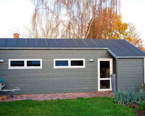 Skandinavisches gartenhaus  Skandinavische Garage und Gartenhaus in Odense Ideen, Design ...