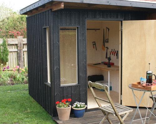 Skandinavisches gartenhaus  Skandinavische Garage und Gartenhaus Aalborg - Ideen & Bilder