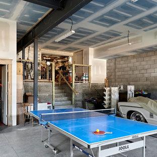 Inspiration for a huge scandinavian garage remodel in Nashville