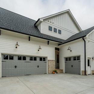 Idéer för att renovera en lantlig tillbyggd trebils garage och förråd