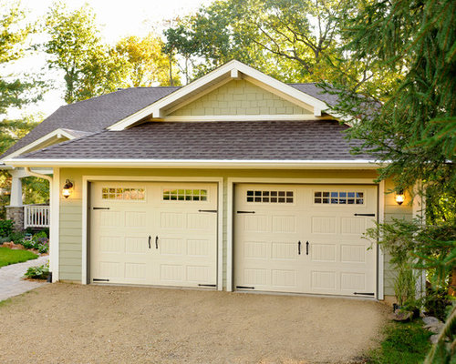 Prairie style garage and shed design ideas pictures for Prairie style garage doors