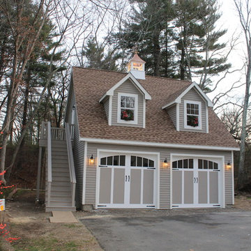 2 Car Garage with Attic space
