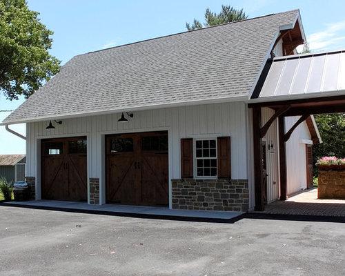 2 Car Garage With Breezeway Avondale PA
