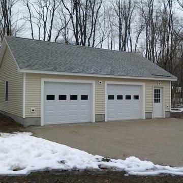2 Stall Garage with workshop