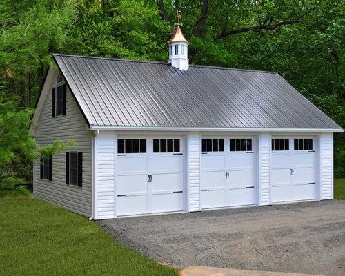 24 X36 3 Car Detached Garage