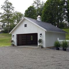 24x24 Gable Style Garage