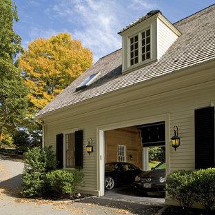 Idéer för att renovera en vintage tvåbils garage och förråd