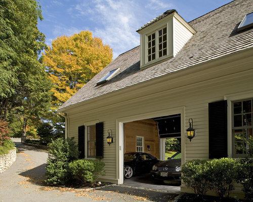 Drive Through Garage Home Design Ideas Renovations Amp Photos