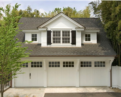 Garage and shed design ideas pictures remodel decor for Garage additions with living space above