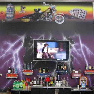 Huge elegant detached three-car garage photo in Cedar Rapids