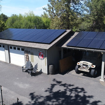 7.98kW Grid-Tied Black Photovoltaic System - Bend