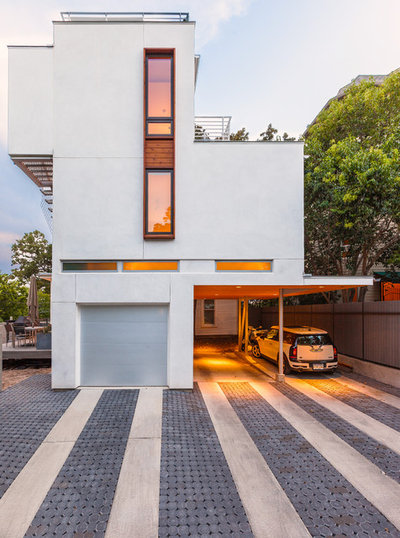Contemporary Garage by Tom Hurt Architecture