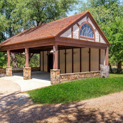 Rustic Carport Garage And Shed Design Ideas Pictures