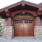 Lake Washington Residence Craftsman Garage Seattle