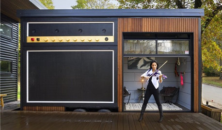 This Musician's Tiny House is the Most Amazing Home You'll Ever See
