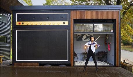 My Houzz TV: Guarda il Video della Tiny House della Violinista