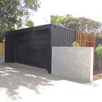 Lucerne Modern Garage Auckland By Daniel Marshall
