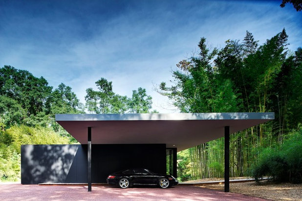 Moderne Garage by Stelle Lomont Rouhani Architects