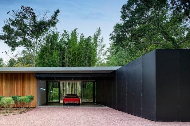 Minimalistisch Garage by Stelle Lomont Rouhani Architects