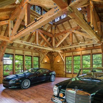 Arts & Crafts Inspired Garage