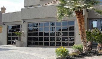 Athena all Glass Garage Door