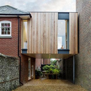 Design ideas for a contemporary garage in Hampshire.