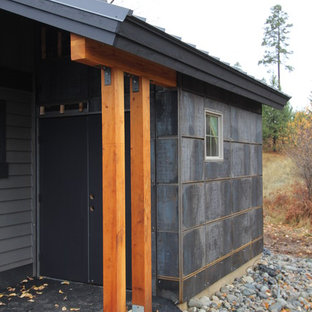 Inspiration for a contemporary garage remodel in Seattle