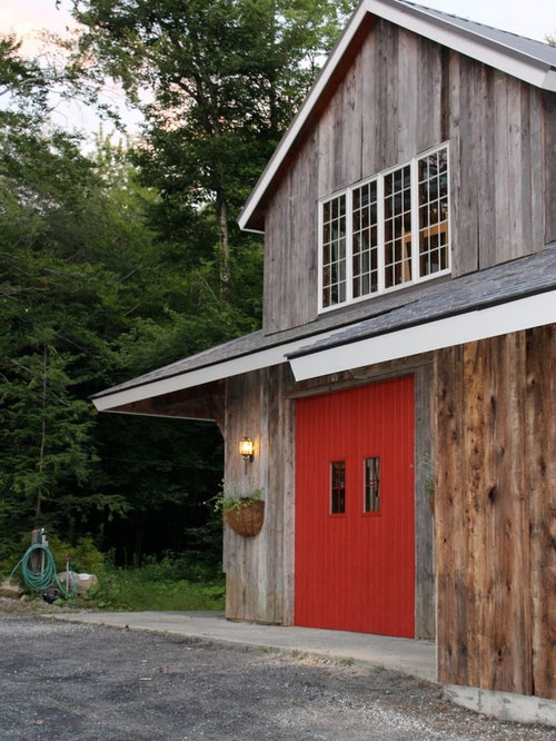 Red Garage Door Home Design Ideas Pictures Remodel And Decor