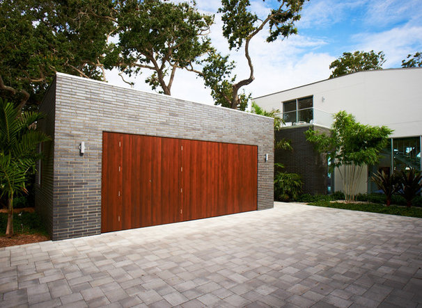 Modern Garage And Shed by Sanders Pace Architecture