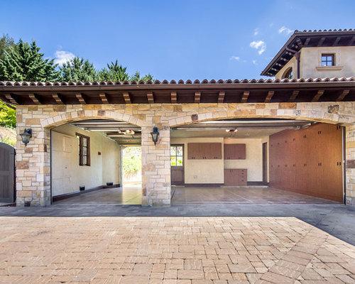 1 371 mediterranean garage and shed design ideas remodel pictures houzz. Black Bedroom Furniture Sets. Home Design Ideas