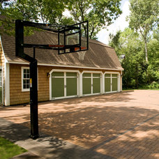 Traditional Garage And Shed by Southview Design
