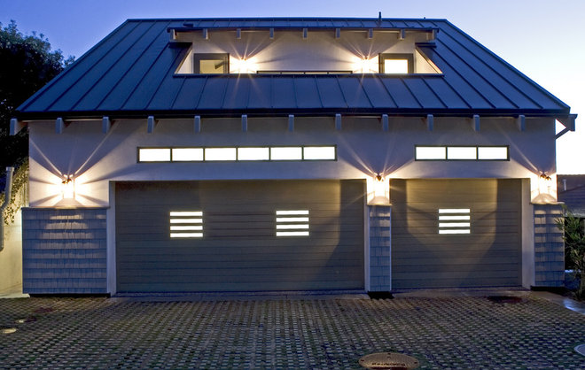 Contemporary Garage And Shed by Sorensen Architects