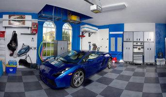 Blue Inspiration Garage Makeover