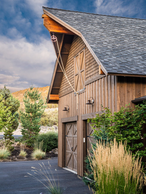 Barn Garage Houzz