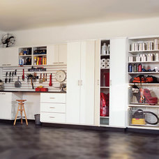 Contemporary Garage And Shed by transFORM | The Art of Custom Storage