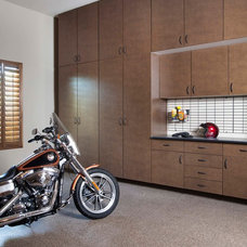 Contemporary Garage And Shed by Organizers Direct
