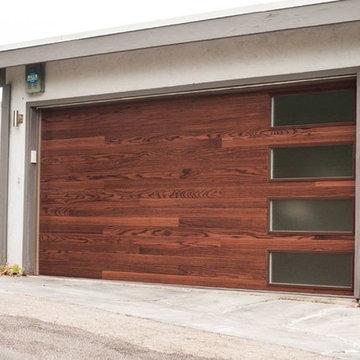 C.H.I. 3216P Dark Oak Plank Door