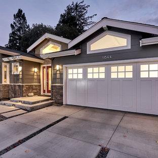 Exempel på en amerikansk garage och förråd