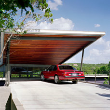 Contemporary Garage And Shed by Tom Hurt Architecture