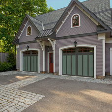 Traditional Garage And Shed by Degnan Design Group + Degnan Design Build