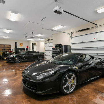 Car Collectors Dream Design on Close to One Acre in Windermere