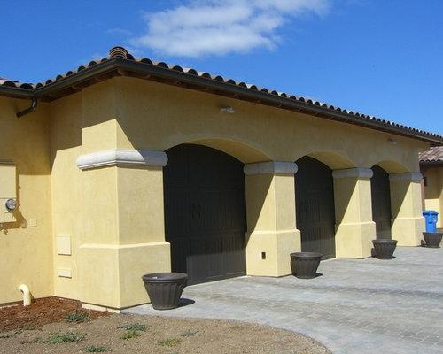 southwestern san luis obispo garage and shed design ideas pictures remodel decor. Black Bedroom Furniture Sets. Home Design Ideas