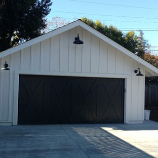 Idéer för att renovera en lantlig garage och förråd