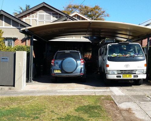 Fotos de garajes dise os de garajes modernos en s dney - Garajes para coches ...