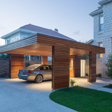 Carport for a Private Residence