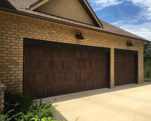 Carriage house accent for Garage door repair edmond ok